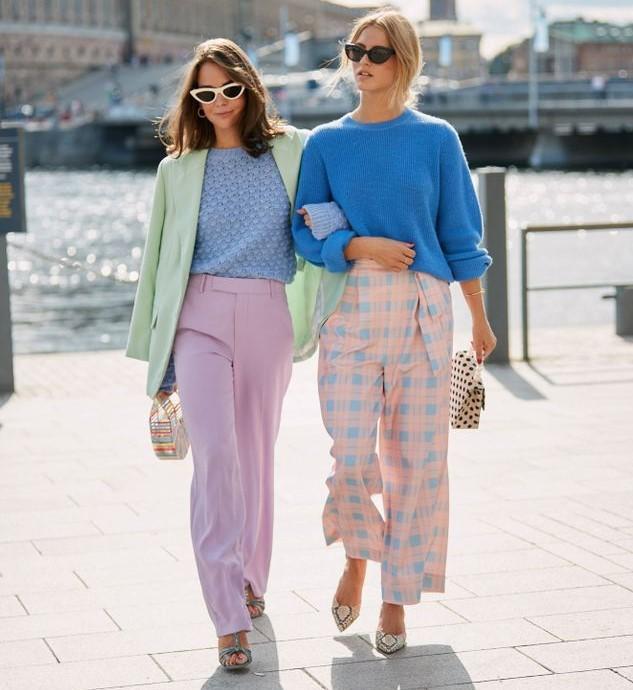 mode couleur pastel